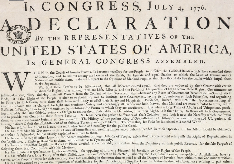 Insane image in printable declaration of independence pdf